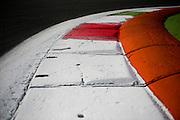 September 1, 2016: Monza curb detail , Italian Grand Prix at Monza