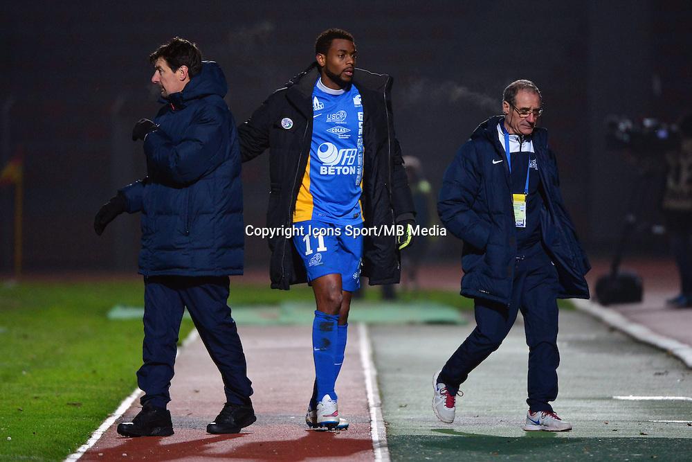 Thierry FROGER / Frederic PIQUIONNE - 23.01.2015 - Creteil / Laval - 21eme journee de Ligue 2<br /> Photo : Dave Winter / Icon Sport