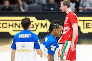 David Moss, EA7 Emporio Armani Milano vs Germani Basket Brescia LBA serie A 4^ giornata di ritorno stagione 2016/2017 Mediolanum Forum Assago, Milano 12/02/2017