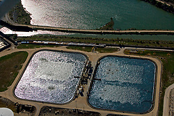 Tank farm located along the Port of Houston