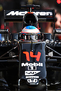 Barcelona, Spain - <br /> <br /> The Spanish driver, Fernando Alonso, from McLaren team, in action during the 2nd day of Formula One tests days in Barcelona, 23rd of February, 2016. <br /> ©Exclusivepix Media