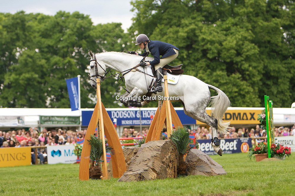 Equi-Trek Bramham International Horse Trials 2012 CCI3*<br /> Olivia Wilmot and Cool Dancer<br /> Final Result - 9th