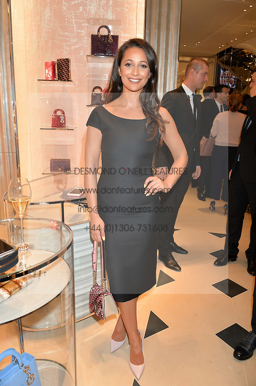 ROXIE NAFOUSI at a cocktail party to mark the opening of the House of Dior, the United Kingdom's largest and premier Dior boutique at 160-162 New Bond street, London on 8th June 2016.
