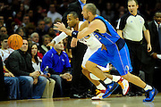 Jan. 2, 2011; Cleveland, OH, USA; Cleveland Cavaliers point guard Mo Williams (2) and Dallas Mavericks point guard Jason Kidd (2) fight for a loose ball during the third quarter at Quicken Loans Arena. The  Mavericks beat the Cavaliers 104-95. Mandatory Credit: Jason Miller-US PRESSWIRE