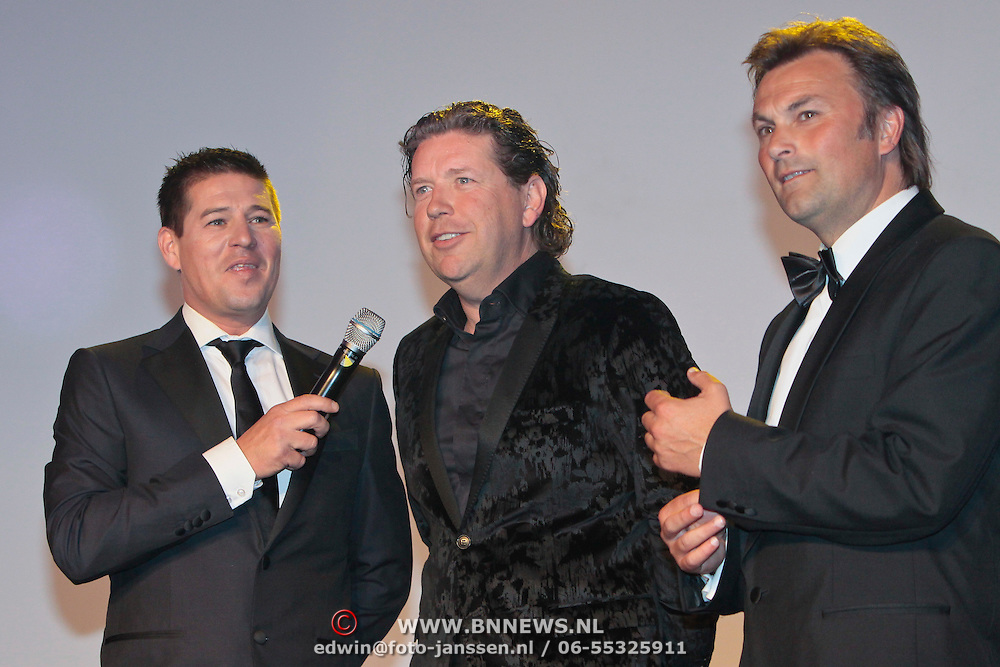 NLD/Amsterdam/20110515 - Coiffure awards 2011, Martijn Krabbe en Henkjan Smits en Ad Peters