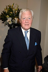 SIR BENJAMIN SLADE at the Sotheby's Summer Party 2007 at their showrooms in New Bond Street, London on 4th June 2007.<br />