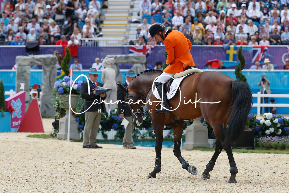 Van Der Vleuten Maikel (NED) - Verdi<br /> Olympic Games London 2012<br /> © Dirk Caremans