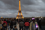 Eiffel Tower, Paris . 9 November 2018