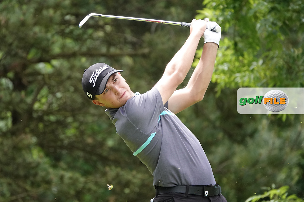 Todd Clements (ENG) in action during the third round of the Hauts de France-Pas de Calais Golf Open, Aa Saint-Omer GC, Saint- Omer, France. 15/06/2019<br /> Picture: Golffile | Phil Inglis<br /> <br /> <br /> All photo usage must carry mandatory copyright credit (© Golffile | Phil Inglis)