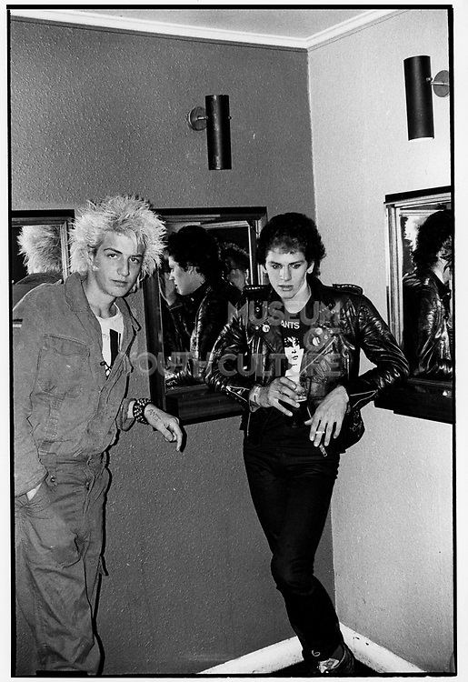 Punks clubbing,London c1980s