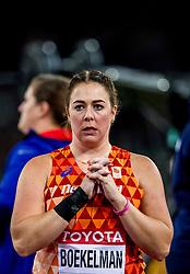08-08-2017 IAAF World Championships Athletics day 5, London<br /> Melissa Boekelman NED (kogelstoten) plaatst zich voor de finale