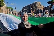 Roma 27 Settembre 2014<br /> La Comunit&agrave; palestinese in Italia,  manifesta a Roma, per la libert&agrave; del popolo palestinese per la loro terra per la pace e la giustizia e contro l'occupazione da parte di Israele.<br /> Rome 27th September 2014 <br /> The Palestinian community in Italy, manifested in Rome, for the freedom of the Palestinian people for their land for peace and justice and against occupation by Israel.