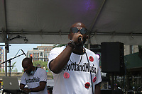 """53rd street was lined with events and activities for people of all ages as he 14th Annual Silver Room Block Party was held this Saturday, July 15th, 2017 along 53rd Street between Lake Park and Blackstone Ave.<br /> <br /> 9129 – Scotland Music took listeners down a hip hop music memory lane. <br /> <br /> Please 'Like' """"Spencer Bibbs Photography"""" on Facebook.<br /> <br /> Please leave a review for Spencer Bibbs Photography on Yelp.<br /> <br /> All rights to this photo are owned by Spencer Bibbs of Spencer Bibbs Photography and may only be used in any way shape or form, whole or in part with written permission by the owner of the photo, Spencer Bibbs.<br /> <br /> For all of your photography needs, please contact Spencer Bibbs at 773-895-4744. I can also be reached in the following ways:<br /> <br /> Website – www.spbdigitalconcepts.photoshelter.com<br /> <br /> Text - Text """"Spencer Bibbs"""" to 72727<br /> <br /> Email – spencerbibbsphotography@yahoo.com"""