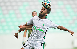 Lamin Diallo of Krka during football match between NK Olimpija and NK Krka in Round 1 of Prva liga Telekom Slovenije 2014/15, on July 19, 2014 in SRC Stozice, Ljubljana, Slovenia. Photo by Vid Ponikvar / Sportida.com