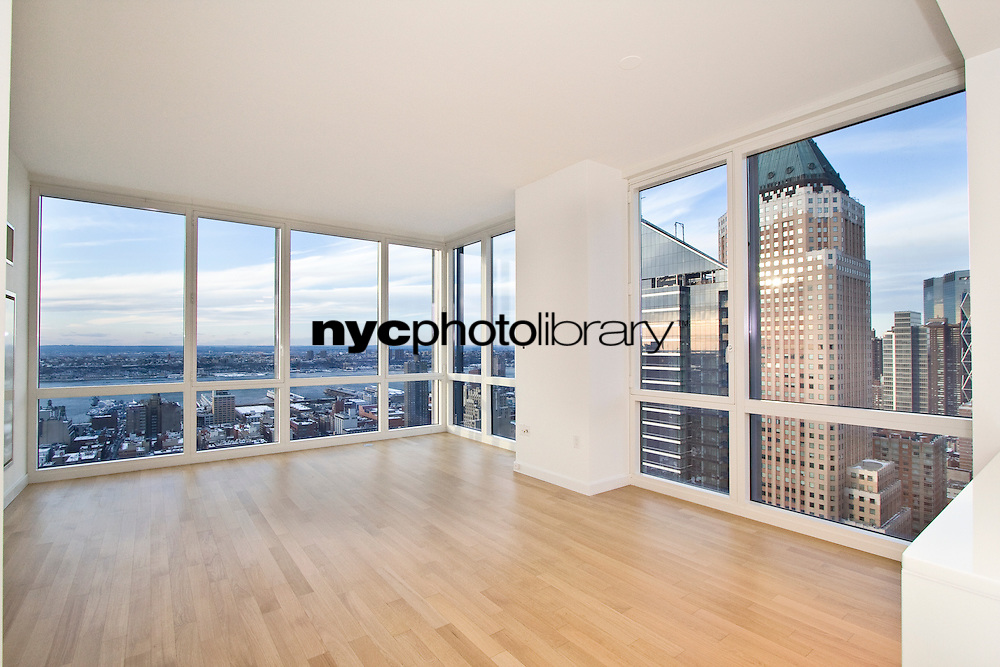 Living Room at 247 West 46th Street