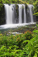 Waterfall at Pua'a Ka'a State Wayside Park, Maui, Hawaii