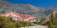 CERRO DE LOS SIETE COLORES, PURMAMARCA, QUEBRADA DE HUMAHUACA, PROVINCIA DE JUJUY, ARGENTINA (PHOTO © MARCO GUOLI - ALL RIGHTS RESERVED)