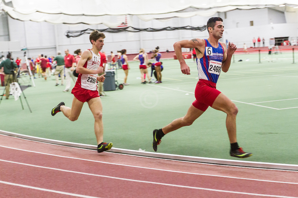 Boston University Multi-team indoor track & field, men 3000 meters, Robert Allen, Umass Lowell