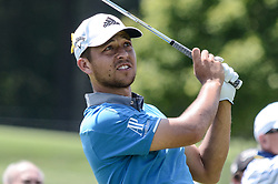 August 10, 2018 - Town And Country, Missouri, U.S - XANDER SCHAUFFELE from San Diego California, USA during round two of the 100th PGA Championship on Friday, August 10, 2018, held at Bellerive Country Club in Town and Country, MO (Photo credit Richard Ulreich / ZUMA Press) (Credit Image: © Richard Ulreich via ZUMA Wire)
