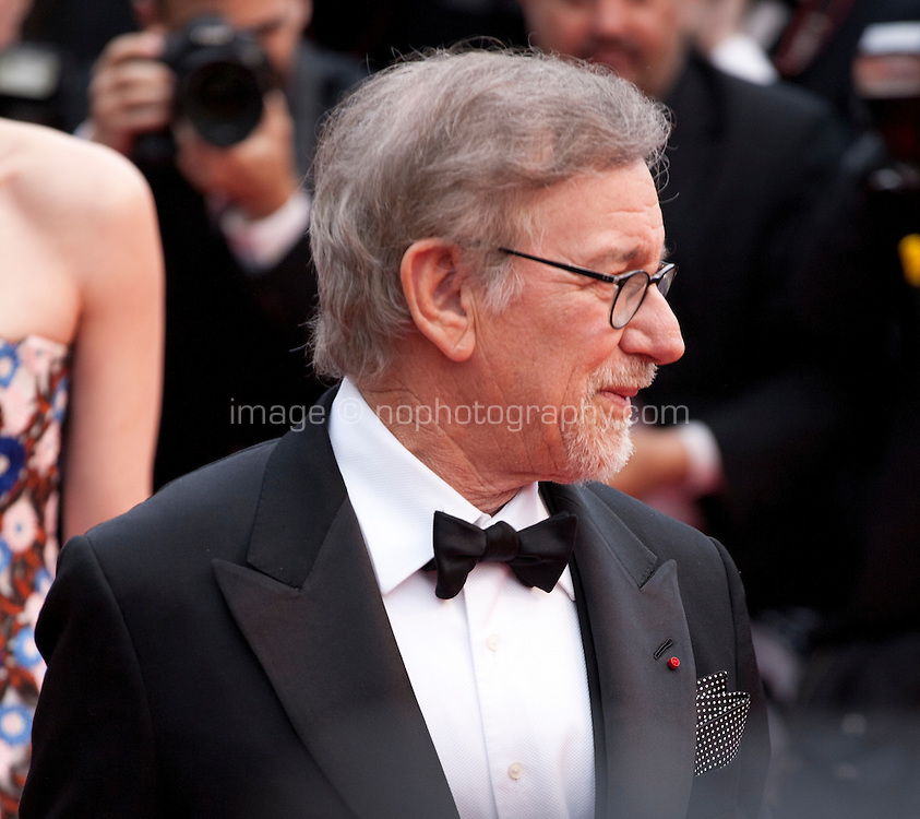 Director Steven Spielberg at the gala screening for the film The BFG at the 69th Cannes Film Festival, Saturday 14th May 2016, Cannes, France. Photography: Doreen Kennedy