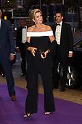 Koningin Maxima is aanwezig bij de opening van het nieuwe seizoen van het Koninklijk Concertgebouworkest.<br /> <br /> Queen Maxima is present at the opening of the new season of the Royal Concertgebouworkest.<br /> <br /> Op de foto / On the photo: Aankomst Arrival