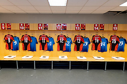 General view of the Southern Kings changing room prior to kick off<br />  - Ryan Hiscott/JMP - 08/11/19 - SPORT - Liberty Stadium - Swansea, Wales - UK CarBody Site Visit