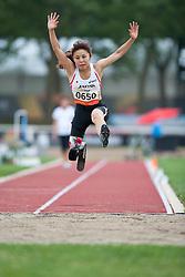 ONISHI Hitomi, JPN, Long Jump, T42, 2013 IPC Athletics World Championships, Lyon, France