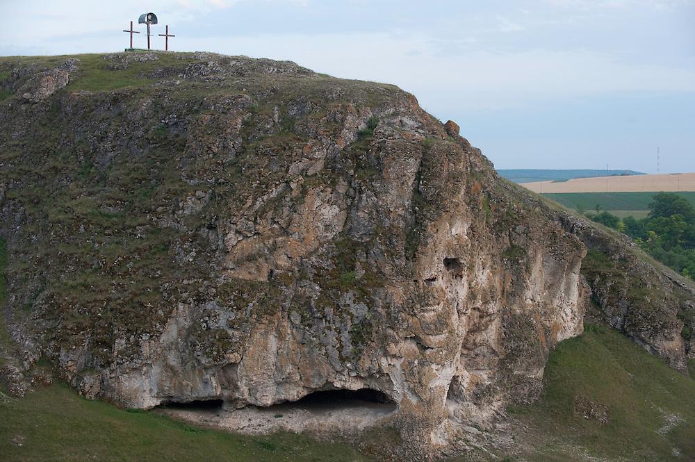 Landscape of western Moldova