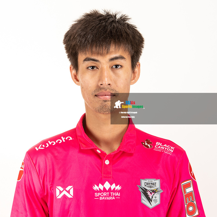 THAILAND - JUNE 06: Kiattisak Jiam Udom #29 of Chainat Hornbill FC on June 06, 2019.<br /> .<br /> .<br /> .<br /> (Photo by: Naratip Golf Srisupab/SEALs Sports Images/MB Media Solutions)