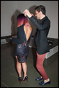 LILY ALLEN; MATTHEW WILLIAMSON, 2014 Serpentine's summer party sponsored by Brioni.with a pavilion designed this year by Chilean architect Smiljan Radic  Kensington Gdns. London. 1July 2014