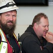 PR photography for Tenaris.<br /> Steel workers.