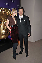 MARK RUFFALO and SUNRISE COIGNEY at the BAFTA Nominees party 2011 held at Asprey, 167 New Bond Street, London on 12th February 2011.