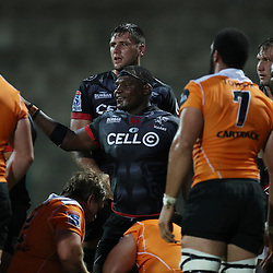 Chiliboy Ralepelle of the Cell C Sharks during The Cell C Sharks Pre Season warm up game 2 Cell C Sharks A and Toyota Cheetahs A,at King Zwelithini Stadium, Umlazi, Durban, South Africa. Friday, 3rd February 2017 (Photo by Steve Haag)