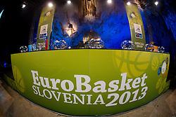 FIBA Europe Eurobasket 2013 draw ceremony on November 18, 2012 in Postojna cave, Postojna, Slovenia. (Photo By Vid Ponikvar / Sportida)
