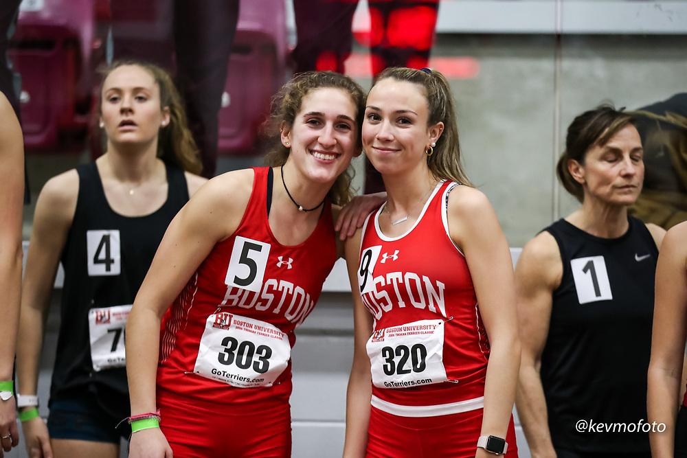 Boston University John Thomas Terrier Indoor Invitational Track & Field, womens 4x800 relay,