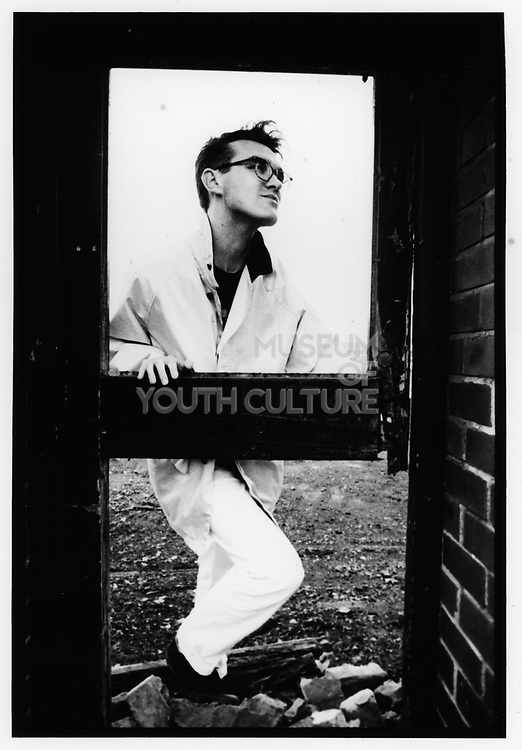 Morrissey,Salford, Greater Manchester 1985