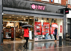 FILE PICTURE © under license to London News Pictures. 06/01/2011. HMV issues third profit warning of the year.   Picture credit should read: Craig Shepheard/London News Pictures