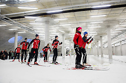 Young cross country athletes at Official opening of the new Nordic centre Planica, on December 11, 2015 in Planica, Slovenia. Photo by Vid Ponikvar / Sportida