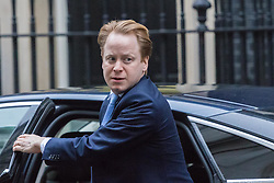 Downing Street, London, January 31 2017. Minister for the Cabinet Office and Paymaster General Ben Gummer arrives at the weekly meeting of the UK cabinet.
