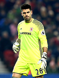 Victor Valdes of Middlesbrough - Mandatory by-line: Robbie Stephenson/JMP - 05/12/2016 - FOOTBALL - Riverside Stadium - Middlesbrough, England - Middlesbrough v Hull City - Premier League