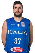 Antonio Iannuzzi<br /> Nazionale Italiana Maschile Senior - Headshot<br /> FIP 2017<br /> Torino, 20/11/2017<br /> Foto M.Ceretti / Ciamillo-Castoria