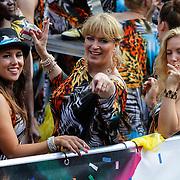 NLD/Amsterdam/20120804 - Canalparade tijdens de Gaypride 2012, Pamela uit de Gouden Kooi