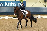 Demi Vermeulen - Nourejev<br /> KNHS Indoorkampioenschappen 2012<br /> © DigiShots