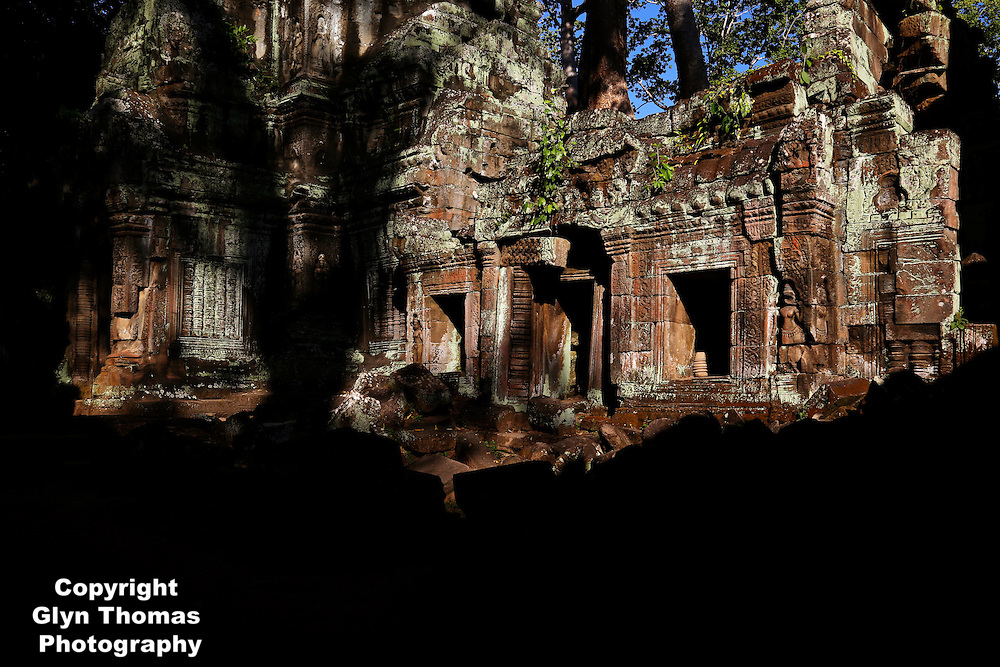 Ta Prohm temple at Angkor, Cambodia