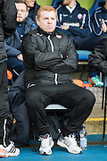 Bolton Wanderers manager Neil Lennon during the Sky Bet Championship match between Reading and Bolton Wanderers at the Madejski Stadium, Reading, England on 6 December 2014.