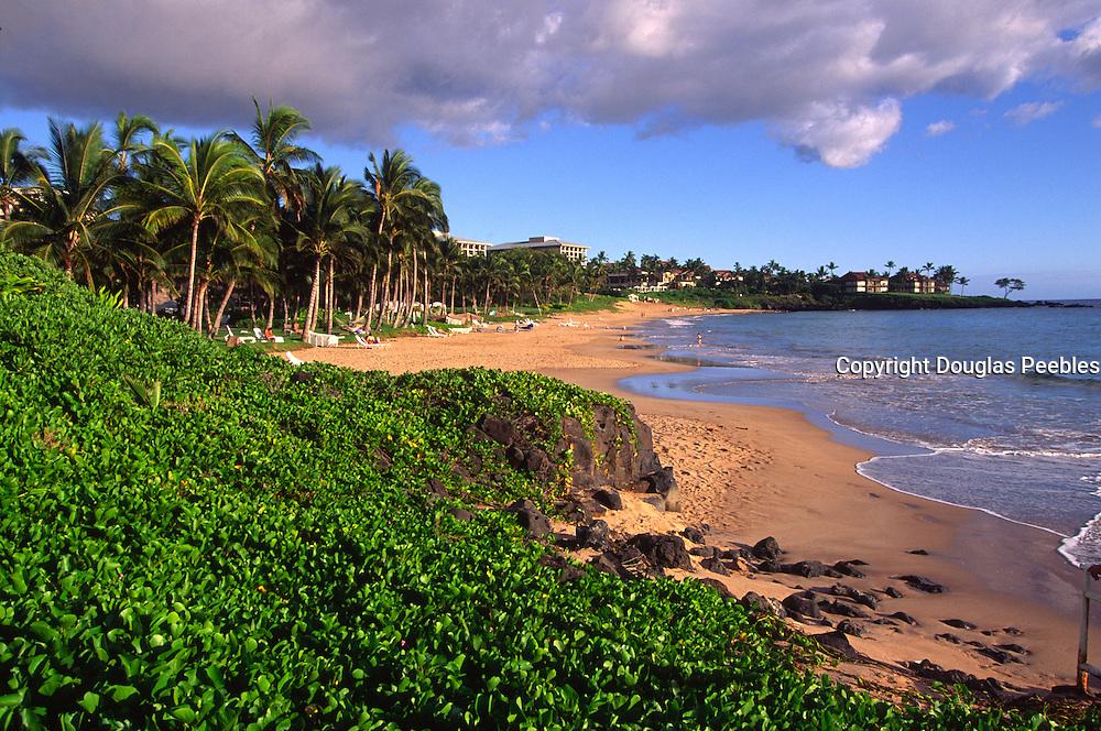 Wailea Beach, Wailea, Maui, Hawaii, USA<br />