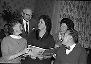 At the Cheshire Home, Shillelagh, Co. Wicklow, a variety concert featuring leading performers from Dublin was held for the entertainment of patients..Picture shows comedian and compere Al Thomas..10.10.1963