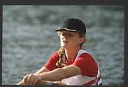 Henley, England,  GBR LW1X, Helen MANGAN 1990 Women's Henley Regatta, Henley Reach, River Thames Oxfordshire <br /> <br /> <br /> [Mandatory Credit; Peter Spurrier/Intersport-images] 1990 Henley Women's Regatta, Henley,