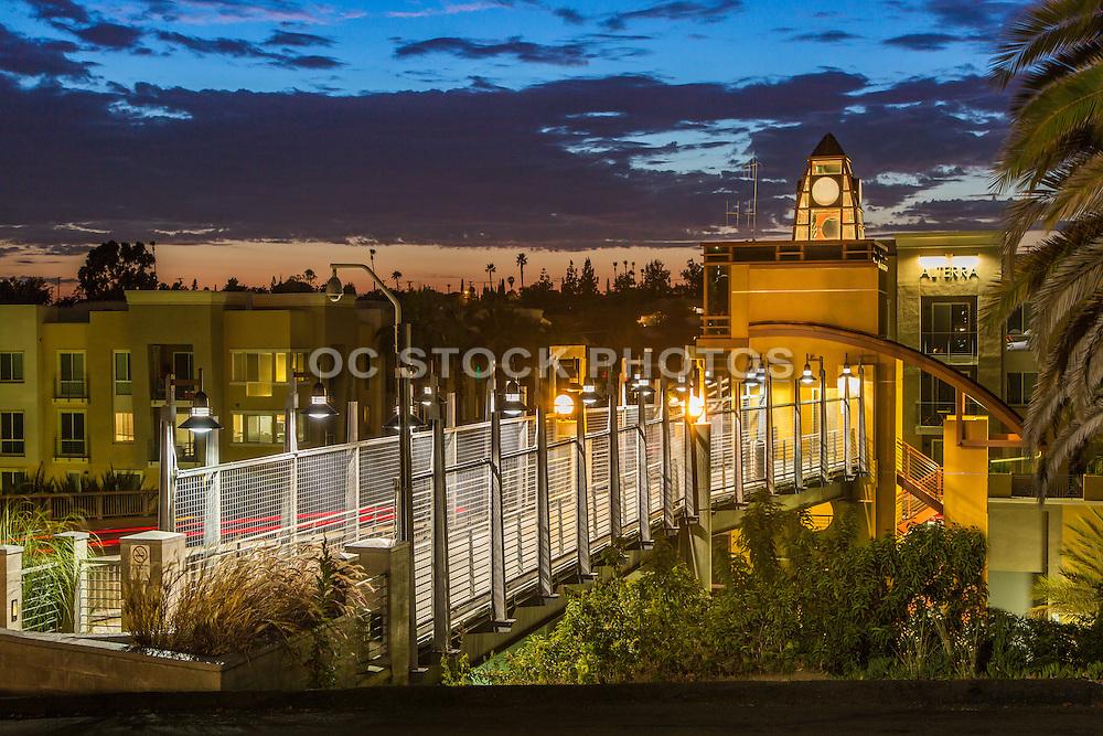 Grossmont Transit Center at Dusk