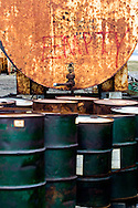 Empty Oil Barrels in the Arctic National Wildlife Refuge, Alaska